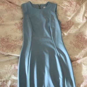 NWT Calvin Klein Baby Blue Work Dress
